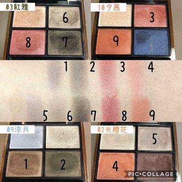 デザイニング カラー アイズ/SUQQU/パウダーアイシャドウを使ったクチコミ(3枚目)