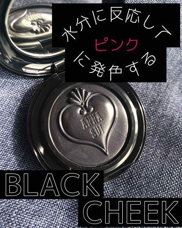 スイブラッククリームブラッシュ/ANNA SUI/ジェル・クリームチークを使ったクチコミ(1枚目)