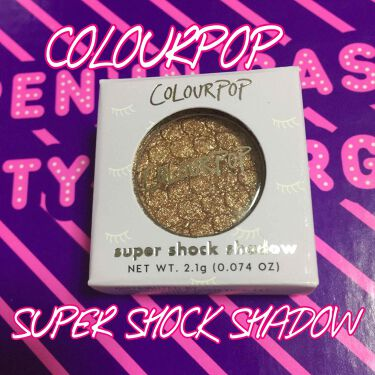 super shock shadow/ColourPop/パウダーアイシャドウを使ったクチコミ(1枚目)