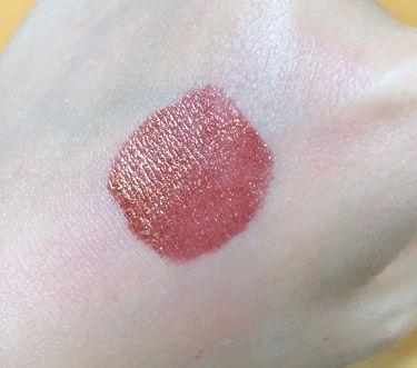 グリッター ゴールズ リキッド リップスティック/NYX Professional Makeup/口紅を使ったクチコミ(2枚目)