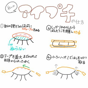 大人のルドゥーブル/ルドゥーブル/二重まぶた用アイテムを使ったクチコミ(3枚目)