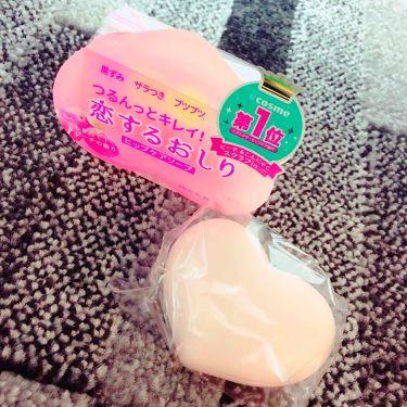 みっぽ、さんの「ペリカン石鹸恋するおしり ヒップケアソープ<バストアップ・ヒップケア>」を含むクチコミ