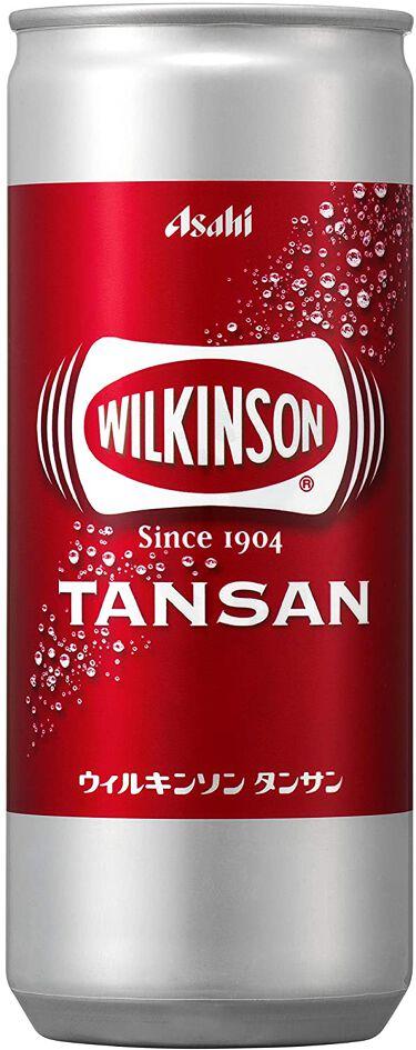 Wilkinson Tansan (ウィルキンソン タンサン/炭酸水) 缶 250ml