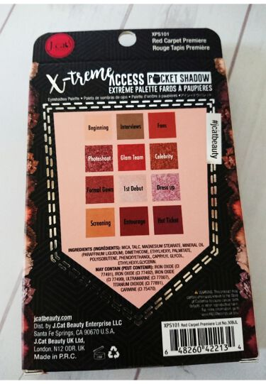 X-treme Access Pocket Shadow/J. Cat Beauty/パウダーアイシャドウを使ったクチコミ(5枚目)