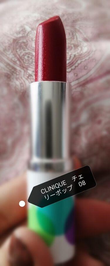 クリニーク ポップ ホリデイ セット/CLINIQUE/口紅を使ったクチコミ(4枚目)