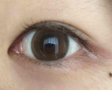 【画像付きクチコミ】さとみんこと八鍬里美ちゃんプロデュースカラコンChipiワンデーマリーペシェ👀✨ちゅるんとした明るめブラウンの瞳になれます(*´꒳`*)画像2枚目はカラコンの写真で3枚目は着用した時の写真です(⑉•ᴗ•⑉)サイズは私的に大きめに感じま...