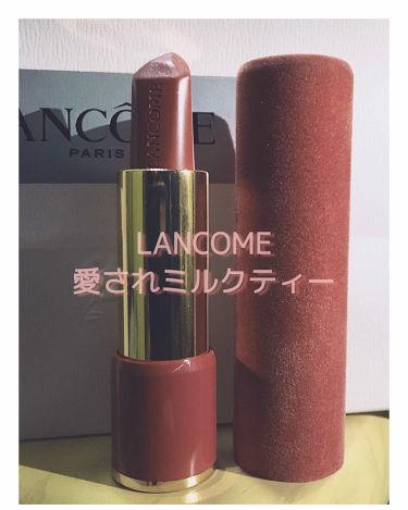ラプソリュ ルージュ/LANCOME/口紅を使ったクチコミ(1枚目)