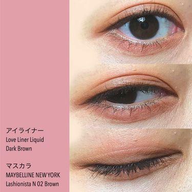 ラッシュニスタ N/MAYBELLINE NEW YORK/マスカラを使ったクチコミ(3枚目)