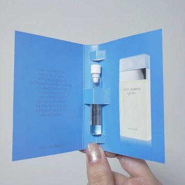 ライトブルー オードトワレ/DOLCE&GABBANA BEAUTY/香水(レディース)を使ったクチコミ(3枚目)