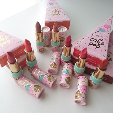 Cake Pop Lippies/ビューティーベーカリー/口紅を使ったクチコミ(1枚目)