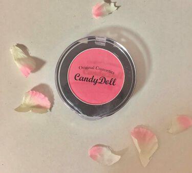 ロングキープチーク/CandyDoll(キャンディドール)/パウダーチーク by なつき