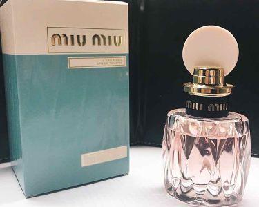 ロー ロゼ オードトワレ/miu miu/香水(レディース)を使ったクチコミ(1枚目)