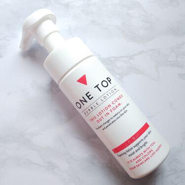 バブルローション/ONE TOP/化粧水を使ったクチコミ(2枚目)