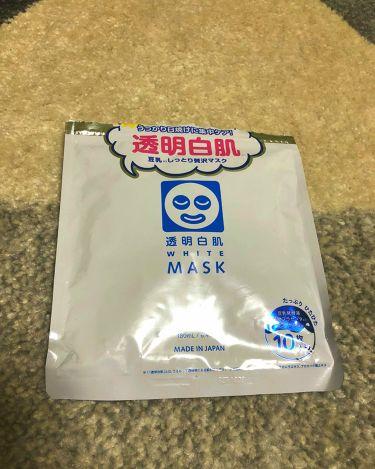 ShiHo♡さんの「透明白肌(トウメイシロハダ)ホワイトマスクN<シートマスク・パック>」を含むクチコミ