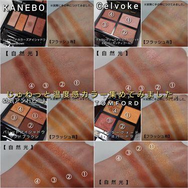 レイヤードカラーズアイシャドウ/KANEBO/パウダーアイシャドウを使ったクチコミ(7枚目)