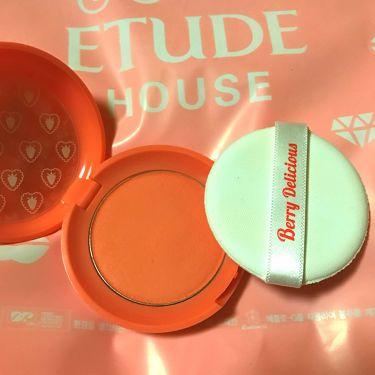 ベリーデリシャス クリームチーク/ETUDE HOUSE/ジェル・クリームチークを使ったクチコミ(2枚目)