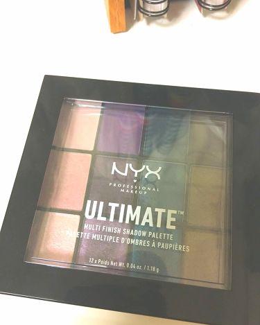 UT シャドウパレット ミックス フィニッシュ/NYX Professional Makeup/パウダーアイシャドウを使ったクチコミ(3枚目)