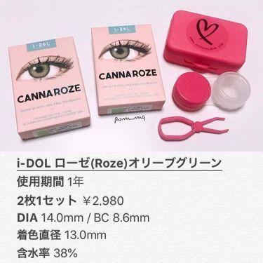 i-DOL ローゼ(Rose)ベージュブラウン/カラーコンタクト/その他を使ったクチコミ(2枚目)