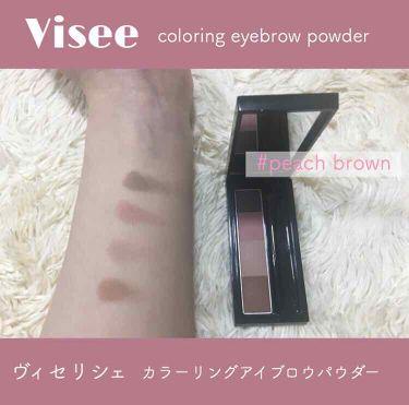 リシェ カラーリング アイブロウパウダー/Visee/パウダーアイブロウ by 白珠