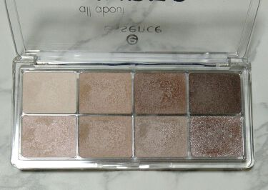 all about eyeshadow palletes/essence/パウダーアイシャドウを使ったクチコミ(2枚目)