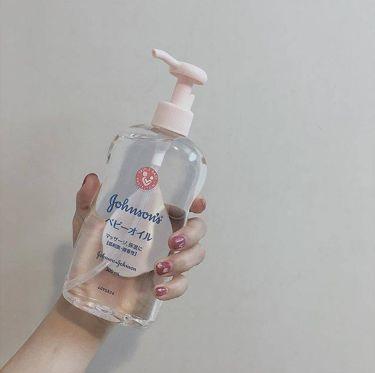 ジョンソンベビーオイル微香性/ジョンソンベビー/ボディクリーム・オイルを使ったクチコミ(2枚目)