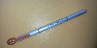 だ円芯 アルミ アイブローペンシル/DAISO/アイブロウペンシルを使ったクチコミ(1枚目)
