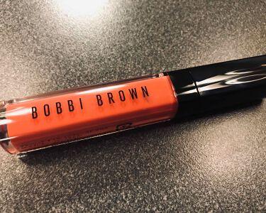 クラッシュドオイル インフューズド グロス/BOBBI  BROWN/リップグロスを使ったクチコミ(1枚目)