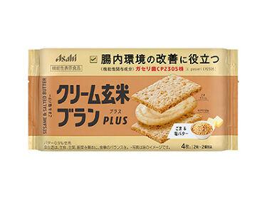 2021/3/1発売 アサヒフードアンドヘルスケア クリーム玄米ブランPLUS