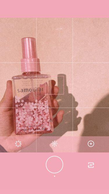 サムライウーマン サクラピンク フレグランスミスト/サムライウーマン/香水(レディース)を使ったクチコミ(1枚目)