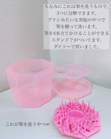 スポンジクリーナー/SHISEIDO/その他化粧小物を使ったクチコミ(3枚目)