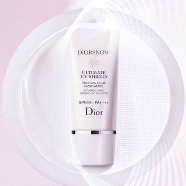 スノー アルティメット UVシールド 50+/Dior/日焼け止め(顔用)を使ったクチコミ(3枚目)
