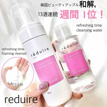 Refreshing time foaming cleanser/reduire /洗顔フォームを使ったクチコミ(1枚目)