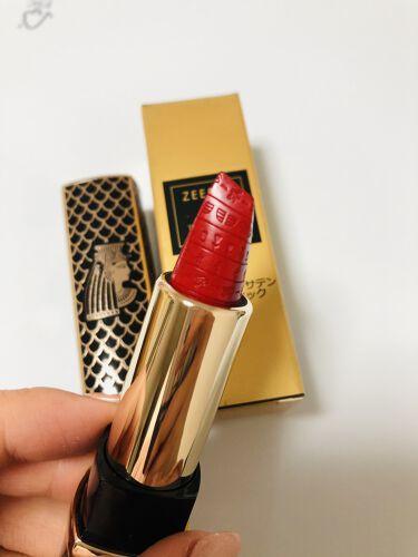 ZEESEA × 大英博物館 Luxury Satin Lipstick/ZEESEA/口紅を使ったクチコミ(2枚目)