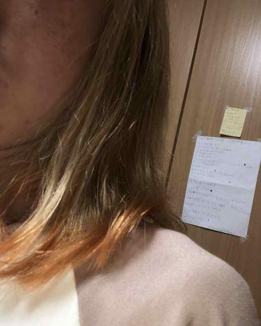 ミシャ 7DAYS COLORING/MISSHA/ヘアカラー・白髪染め・ブリーチを使ったクチコミ(2枚目)
