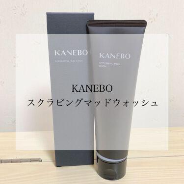 スクラビング マッド ウォッシュ/KANEBO/洗顔フォームを使ったクチコミ(1枚目)