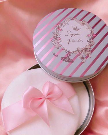 すっぴんパウダー パステルローズの香り/クラブ/プレストパウダーを使ったクチコミ(2枚目)