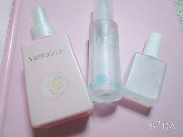 ホワイトローズ フレグランスミスト/サムライウーマン/香水(レディース)を使ったクチコミ(2枚目)
