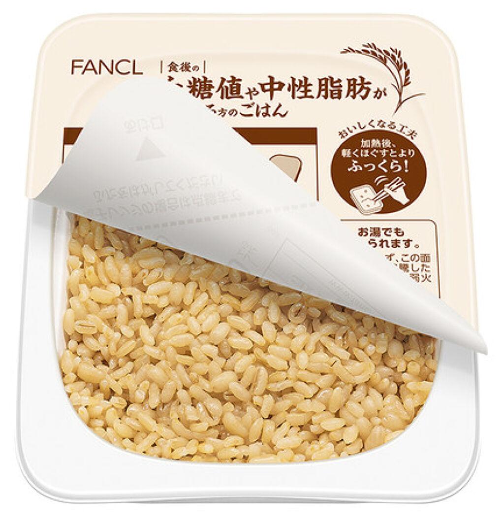 食後の血糖値や中性脂肪が気になる方のごはん ファンケル