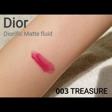 ディオリフィック マット フルイド/Dior/ジェル・クリームチークを使ったクチコミ(3枚目)