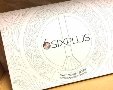 貴族のゴールドメイクブラシ/SIXPLUS/メイクブラシを使ったクチコミ(2枚目)