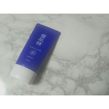 ホワイト UV ジェル/雪肌精/日焼け止め(ボディ用)を使ったクチコミ(1枚目)