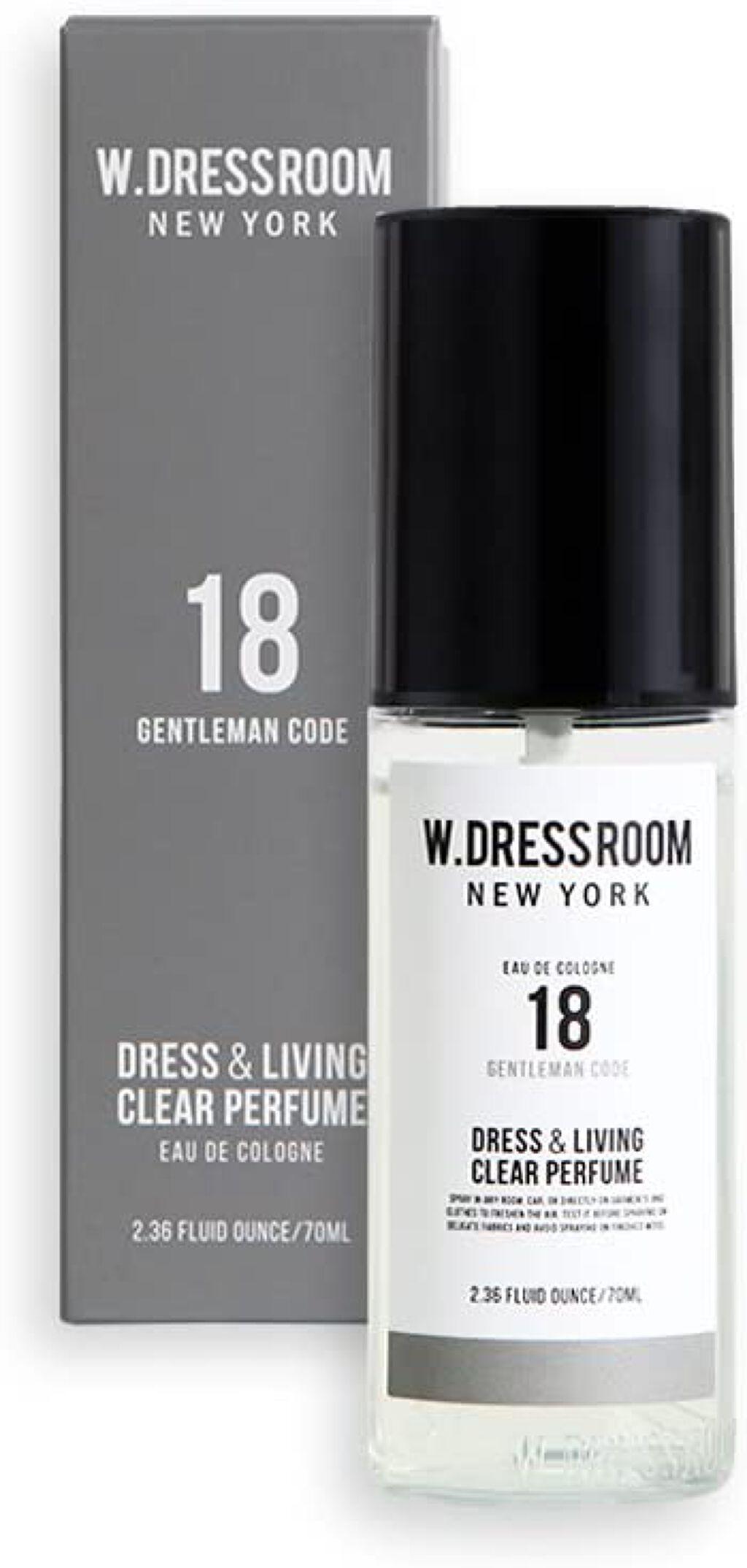 ドレス&リビング クリーン パフューム No.18 ジェントルマンコーデ