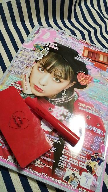 colorful_cosme_qcuさんの「Popteen (ポップティーン)Popteen2019年1月号付録・Honey Cinnamonティントリップ<口紅>」を含むクチコミ