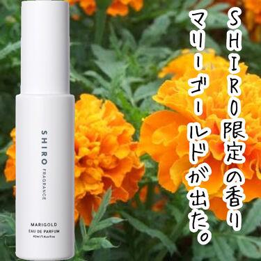 マリーゴールド オードパルファン/SHIRO/香水(レディース)を使ったクチコミ(1枚目)