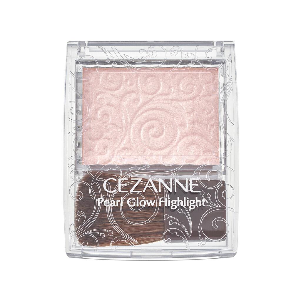 セザンヌ名品ハイライトから待望のピンクカラー♡血色感をプラスする新色シェルピンクを現品プレゼント🐚(1枚目)