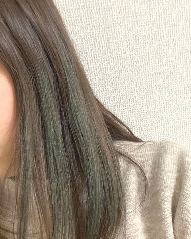 1DAY HAIR MONSTER/リーゼ/ヘアカラー・白髪染め・ブリーチを使ったクチコミ(4枚目)