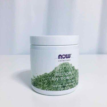 ヨーロピアン・クレイ・パウダー/Now Foods(海外)/洗い流すパック・マスクを使ったクチコミ(1枚目)