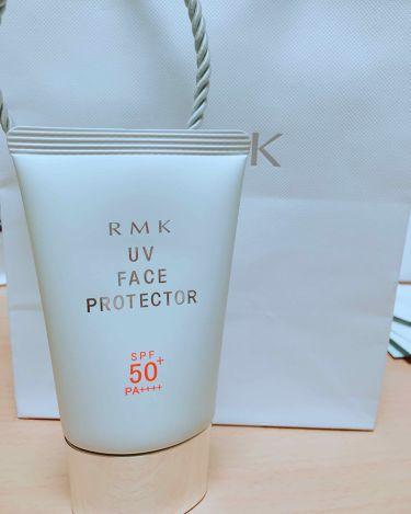UVフェイスプロテクター50/RMK/日焼け止め(顔用)を使ったクチコミ(1枚目)