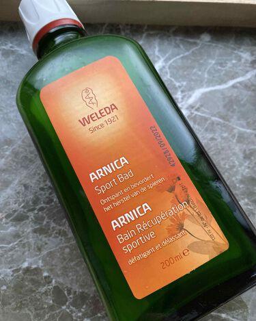 アルニカ バスミルク/WELEDA/入浴剤を使ったクチコミ(1枚目)