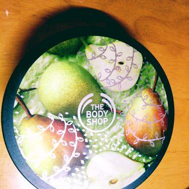 ボディバター ジューシィペア/THE BODY SHOP/ボディクリーム・オイルを使ったクチコミ(1枚目)